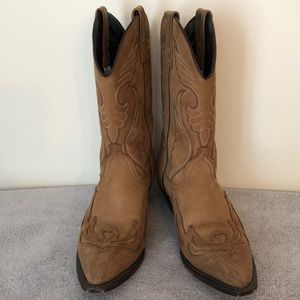 Masterson RB890 boots light brown size 9.5 scuffs